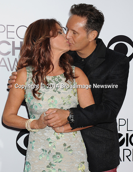 Pictured: Roma Downey<br /> Mandatory Credit &copy; Gilbert Flores /Broadimage<br /> 2014 People's Choice Awards <br /> <br /> 1/8/14, Los Angeles, California, United States of America<br /> Reference: 010814_GFLA_BDG_307<br /> <br /> Broadimage Newswire<br /> Los Angeles 1+  (310) 301-1027<br /> New York      1+  (646) 827-9134<br /> sales@broadimage.com<br /> http://www.broadimage.com