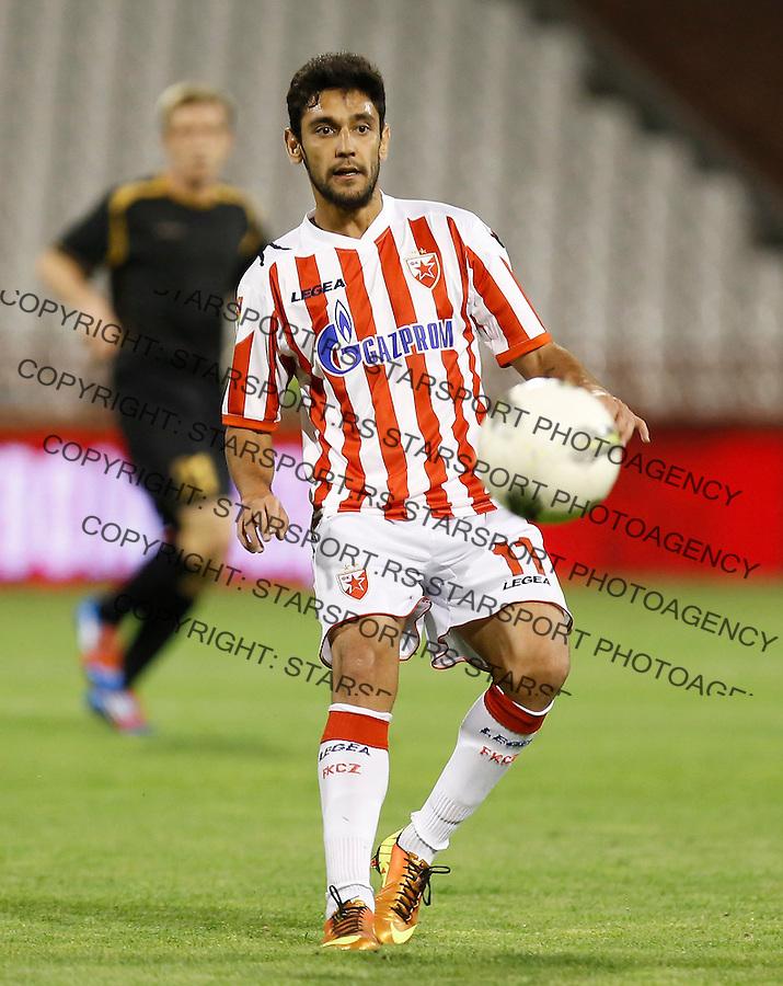 Fudbal Super liga season 2012-2013.Crvena Zvezda v Donji Srem.Kadu.Beograd, 04.27.2013..foto: Srdjan Stevanovic/Starsportphoto ©