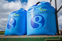 One tonne bags of Nitram 34% fertilser