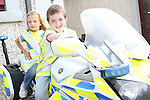 Anthony Burke and Nicole Pentony at the Garda Station Open Day...Picture Jenny Matthews/Newsfile.ie