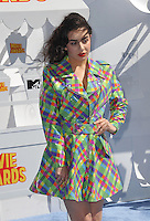 Charli XCX at the 2015 MTV Movie Awards at the Nokia Theatre LA Live.<br /> April 12, 2015  Los Angeles, CA<br /> Picture: Paul Smith / Featureflash