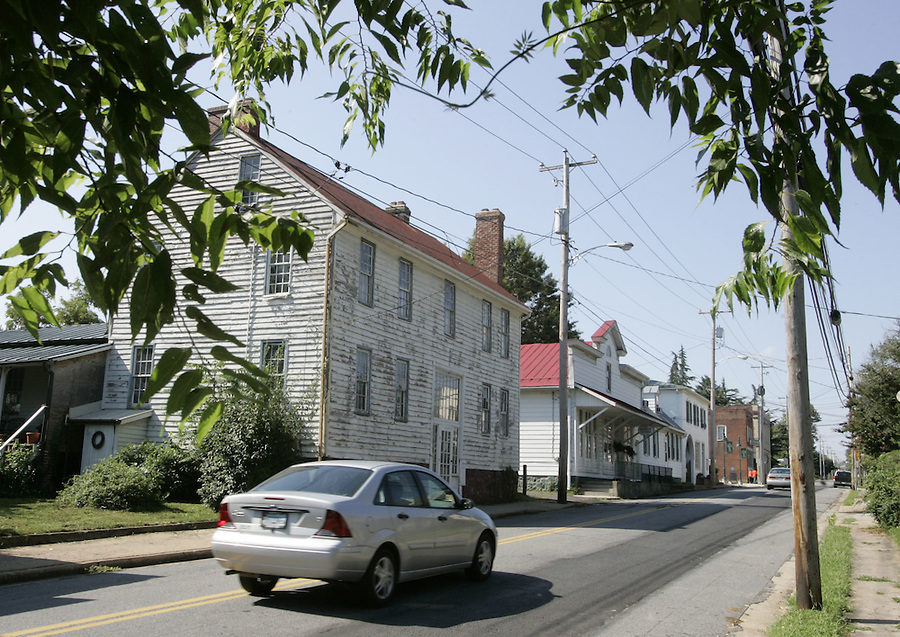 Madison County has received grants to update the facades of it's downtown buildings on Main Street in Madison, Va. The project is expected to begin in September of this year. Photo/Andrew Shurtleff