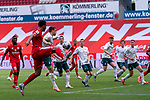 Maximilian Eggestein (Werder Bremen #35), Marco Friedl (Werder Bremen #32), Christian Groß / Gross (Werder Bremen #36), Milos Veljkovic (Werder Bremen #13), Niklas Moisander (Werder Bremen #18 Kapitaen), Joshua Sargent (Werder Bremen #19), Moussa Niakhate / Niakhaté (FSV Mainz 05 #19)<br /> <br /> <br /> Sport: nphgm001: Fussball: 1. Bundesliga: Saison 19/20: 33. Spieltag: 1. FSV Mainz 05 vs SV Werder Bremen 20.06.2020<br /> <br /> Foto: gumzmedia/nordphoto/POOL <br /> <br /> DFL regulations prohibit any use of photographs as image sequences and/or quasi-video.<br /> EDITORIAL USE ONLY<br /> National and international News-Agencies OUT.<br /> Edimilson Fernandes (FSV Mainz 05 #20)
