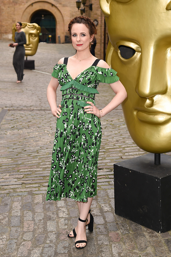 Cariad Lloyd<br /> arriving for the BAFTA Craft Awards 2018 at The Brewery, London<br /> <br /> ©Ash Knotek  D3398  22/04/2018