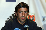 08 August 2009: Real Madrid captain Raul Gonzalez (ESP). Real Madrid of Spain's La Liga and DC United of Major League Soccer held a press conference at the Sofitel Hotel in Washington, DC a day before playing an international club friendly soccer match.