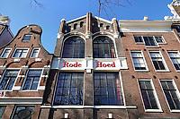 Nederland Amsterdam 2018. De Rode Hoed. De Rode Hoed is een debatcentrum in een voormalige remonstrantse schuilkerk in Amsterdam aan de Keizersgracht  . Foto Berlinda van Dam / Hollandse Hoogte