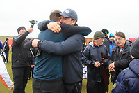Robert Brazill (Naas) wins the final of the 2018 West of Ireland, in Co Sligo Golf Club, Rosses Point, Sligo, Co Sligo, Ireland. 03/04/2018.<br /> Picture: Golffile | Fran Caffrey<br /> <br /> <br /> All photo usage must carry mandatory copyright credit (&copy; Golffile | Fran Caffrey)