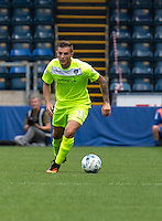 Ben Dickenson of Colchester United during the Sky Bet League 2 match between Wycombe Wanderers and Colchester United at Adams Park, High Wycombe, England on 27 August 2016. Photo by Liam McAvoy.