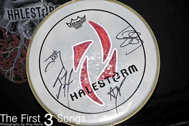 Halestorm performs at Bogart's in Cincinnati, Ohio.