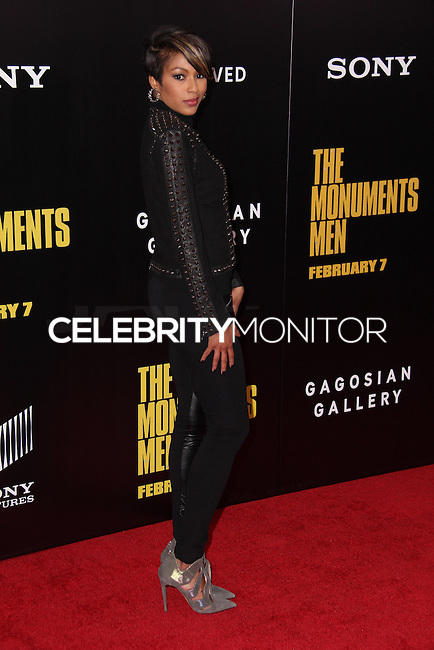 "NEW YORK, NY - FEBRUARY 04: Alicia Quarles at the New York Premiere Of Columbia Pictures' ""The Monuments Men"" held at Ziegfeld Theater on February 4, 2014 in New York City, New York. (Photo by Jeffery Duran/Celebrity Monitor)"