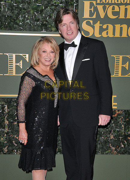 Elaine Paige &amp; Justin Mollinson attend the London Evening Standard Theatre Awards 2015, The Old Vic, The Cut, London, England, UK, on Sunday 22 November 2015.<br /> CAP/CAN<br /> &copy;CAN/Capital Pictures