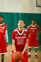 April 9, 2011 - Hampton, VA. USA;  Justin Jackson participates in the 2011 Elite Youth Basketball League at the Boo Williams Sports Complex. Photo/Andrew Shurtleff
