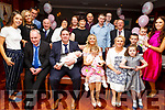 Christening of Evie Helen Breen from Boherbue, Co Cork in the Ballygarry Hotel on Saturday.<br /> L-r, Noel Fitzgerald (Godfather), Tim, Helena, baby Evie and Kayla Breen with Rose O&rsquo;Roridan.