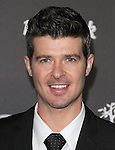 Robin Thicke at The Hard Rock Cafe Hollywood's grand opening party in Hollywood, California on October 21,2010                                                                               © 2010 Hollywood Press Agency