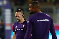 Franck Ribery of Fiorentina during the warm up<br /> Firenze 24-8-2019 Stadio Artemio Franchi <br /> Football Serie A 2019/2020 <br /> ACF Fiorentina - SSC Napoli <br /> Photo Cesare Purini / Insidefoto