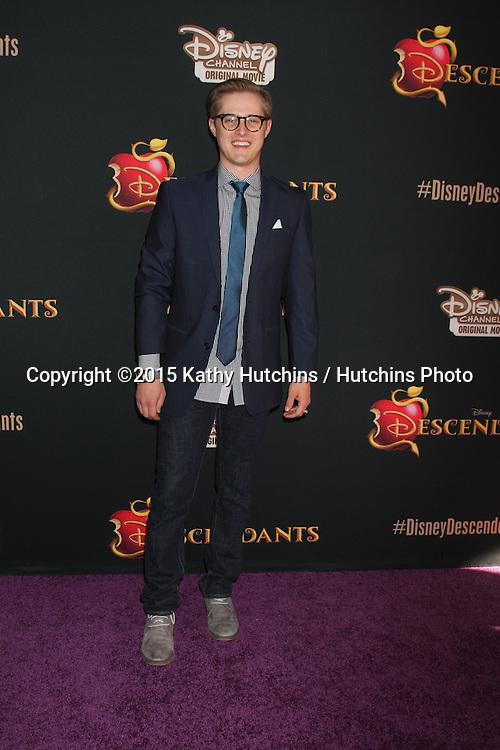 "LOS ANGELES - JUL 24:  Lucas Grabeel at the ""Descendants"" Premiere Screening at the Walt Disney Studios on July 24, 2015 in Burbank, CA"