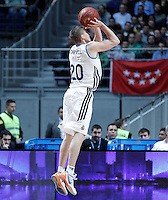 Real Madrid's Jaycee Carroll during Euroleague 2012/2013 match.January 11,2013. (ALTERPHOTOS/Acero) /NortePhoto