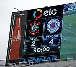 Rangers are 4-2 winners against Corinthians