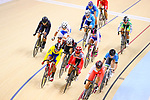 General view, <br /> AUGUST 29, 2018 - Cycling - Track : <br /> Women's Omnium elimination race 3/4 <br /> at Jakarta International Velodrome <br /> during the 2018 Jakarta Palembang Asian Games <br /> in Jakarta, Indonesia. <br /> (Photo by Naoki Nishimura/AFLO SPORT)