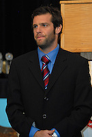 DC United midfielder Ben Olsen at the DC United awards presentation. DC United 4th Annual Awards Reception honoring player achievements for the 2007 season took place at the Ronald Reagan Building in Washington, DC on October 22, 2007.