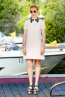 VENICE, ITALY - SEPTEMBER 01: Zosia Mamet is seen arriving at the Hotel Excelsior during the 74th Venice Film Festival on September 01, 2017 in Venice, Italy.  Credit: John Rasimus/MediaPunch ***FRANCE, SWEDEN, NORWAY, DENARK, FINLAND, USA, CZECH REPUBLIC, SOUTH AMERICA ONLY***