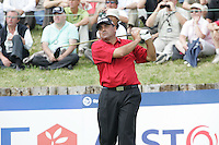 Angel Cabrera tees off on the 17th tee during the 3rd round of the 2008 Open de France Alstom at Golf National, Paris, France June 28th 2008 (Photo by Eoin Clarke/GOLFFILE)