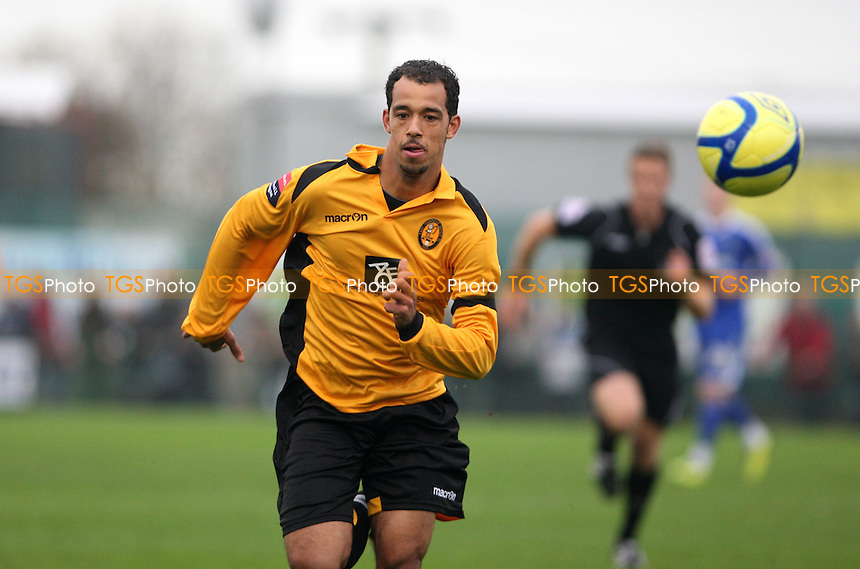Kye Ruel of East Thurrock - East Thurrock vs Macclesfield Town, FA Cup 1st round at Rookery Hill, East Thurrock - 12/11/11 - MANDATORY CREDIT: Rob Newell/TGSPHOTO - Self billing applies where appropriate - 0845 094 6026 - contact@tgsphoto.co.uk - NO UNPAID USE.