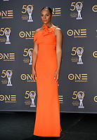 LOS ANGELES, CA. March 30, 2019: Tika Sumpter at the 50th NAACP Image Awards.<br /> Picture: Paul Smith/Featureflash