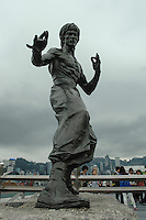 Statue of Bruce Lee, Hong Kong, China