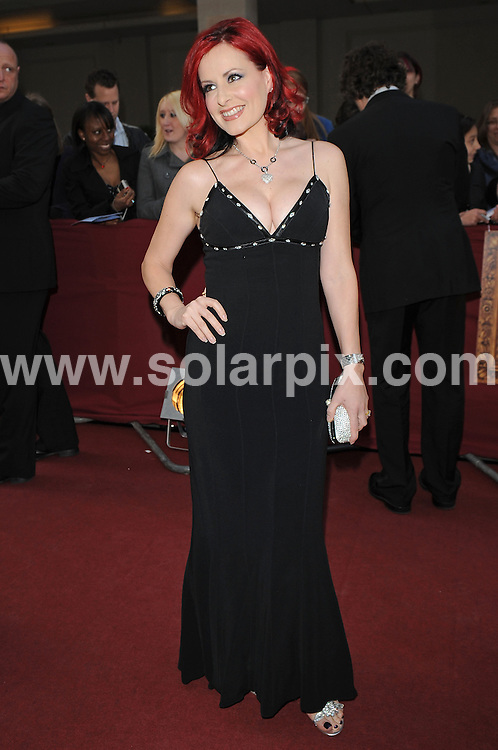 """**ALL ROUND PICTURES FROM SOLARPIX.COM**.**WORLDWIDE SYNDICATION RIGHTS**.Authors and celebrities arrive for the Galaxy British Book Awards or """"Nibbies"""" at the Grosvenor House Hotel in London..This pic:  Carrie Grant.JOB REF:  8765    SSD     DATE:  04.04.09.**MUST CREDIT SOLARPIX.COM OR DOUBLE FEE WILL BE CHARGED**.**ONLINE USAGE FEE GBP 50.00 PER PICTURE - NOTIFICATION OF USAGE TO PHOTO @ SOLARPIX.COM**.**CALL SOLARPIX : +34 952 811 768 or LOW RATE FROM UK 0844 617 7637**"""
