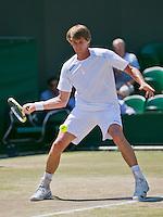 England, London, 28.06.2014. Tennis, Wimbledon, AELTC,  Paul Haarhuis (NED)<br /> Photo: Tennisimages/Henk Koster
