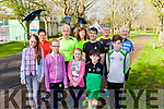 The first ever Park Run takes place in Listowel Town Park this Saturday morning. Pictured were: Rachel Neylon, Emma Neylon, Ellie Mai Neylon, Jake Segal, and Adam Segal. Back l-r were: Miriam O'Keeffe, Jimmy Deenihan, Fiona Neylon, Tim Segal, Ribald Pierse and Tony Buckley.