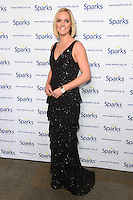 Amanda Davies<br /> at the Sparks Winter Ball 2016, Camden Roundhouse, London.<br /> <br /> <br /> ©Ash Knotek  D3206  30/11/2016