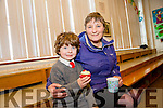 Dromclough NS hosting grandparents day on Tuesday Pictured Rory Stack with Grandmother Nora Ann Lyons