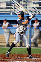July 4th 2008:  Kyeong Kang of the Hudson Valley Renegades, Class-A affiliate of the Tampa Bay Rays, during a game at Dwyer Stadium in Batavia, NY.  Photo by:  Mike Janes/Four Seam Images