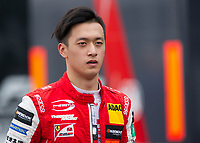 Guanyu Zhou (CHN) of Prema Theodore Racing during the F3 European race during the 2018 Silverstone - FIA World Endurance Championship at Silverstone Circuit, Towcester, England on 19 August 2018. Photo by Vince  Mignott.