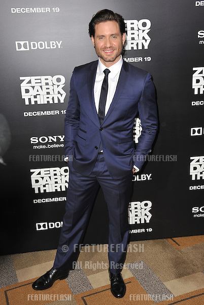"""Edgar Ramirez at the premiere of his movie """"Zero Dark Thirty"""" at the Dolby Theatre, Hollywood..December 10, 2012  Los Angeles, CA.Picture: Paul Smith / Featureflash"""