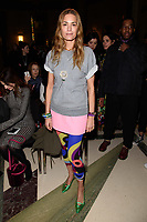 Yasmin Le Bon<br /> at the Pam Hogg show as part of London Fashion Week, London<br /> <br /> <br /> ©Ash Knotek  D3378  16/02/2018