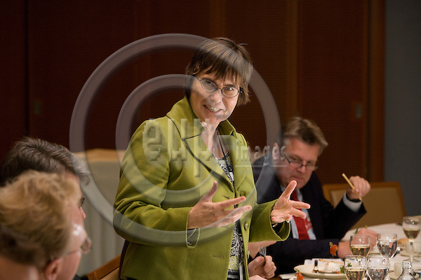 BRUSSELS - BELGIUM - 12 NOVEMBER 2008 --  Danish MEP Anne E. JENSEN. Photo: Erik Luntang/EUP-IMAGES.