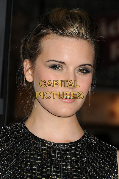 LOS ANGELES, CA - FEBRUARY 24 - Maggie Grace. &quot;Non-Stop&quot; Los Angeles Premiere held at the Regency Village Theatre. <br /> CAP/ADM/BP<br /> &copy;Byron Purvis/AdMedia/Capital Pictures