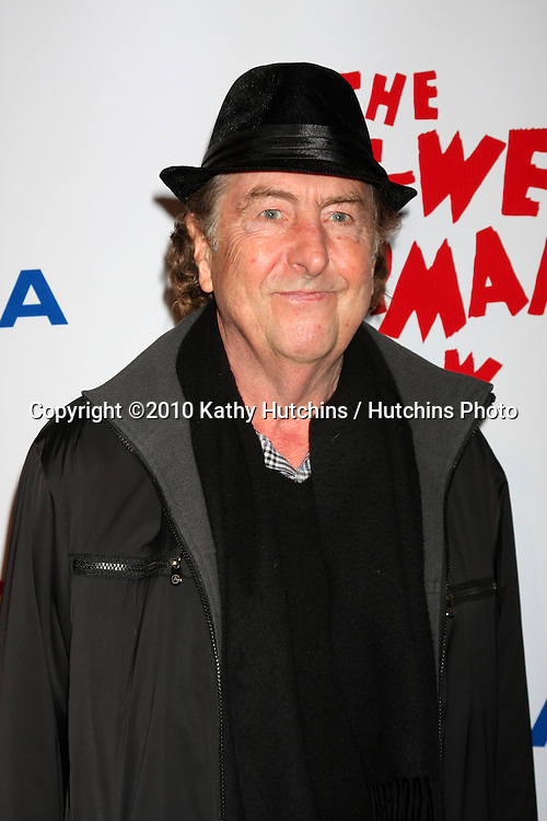 "Eric Idle.arriving at the ""The Pee Wee Herman Show"" Opening Night..Club Nokia.Los Angeles, CA.January 20, 2010.©2010 Kathy Hutchins / Hutchins Photo...."