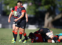 Ben Youngs (Leicester Tigers) during the England Rugby training session at  Jonsson Kings Park Stadium,Durban.South Africa. 05,06,2018 Photo by (Steve Haag)