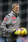 Napoli goalkeeping coach Alessandro Nista during the Coppa Italia match at Giuseppe Meazza, Milan. Picture date: 12th February 2020. Picture credit should read: Jonathan Moscrop/Sportimage