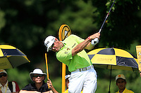 Lee Westwood (ENG) on the 7th tee during Round 3 of the Maybank Malaysian Open at the Kuala Lumpur Golf & Country Club on Saturday 7th February 2015.<br /> Picture:  Thos Caffrey / www.golffile.ie