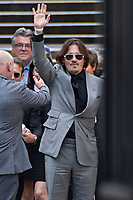London, UK - 28 July 2020<br /> Johnny Depp leaves The Royal Courts of Justice at the end of libel trial against the Sun