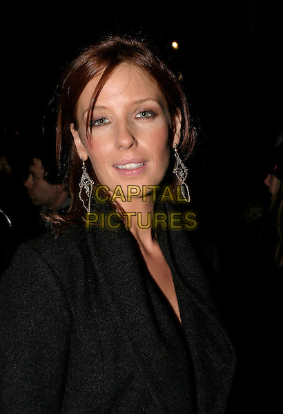 "KELLY REILLY.Aftershow Party for ""Mrs Henderson Presents"" at Floridita London, UK..November 23rd, 2005.Ref: AH.headshot portrait dangling earrings.www.capitalpictures.com.sales@capitalpictures.com.© Capital Pictures."
