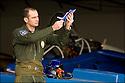 -2008- Salon de Provence- Patrouille de France, capitaine Antoine Monhee.