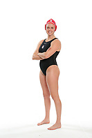 STANFORD, CA - February 9, 2018: 2018 Stanford Women's Water Polo portraits.