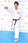 Ryutaro Araga, <br /> AUGUST 4, 2016 - Karate : <br /> Japan Karatedo Federation holds a press conference after it was decided that <br /> the sport of karate would be added to the Tokyo 2020 Summer Olympic Games on August 3rd, 2016 <br /> in Tokyo, Japan. <br /> (Photo by AFLO SPORT)