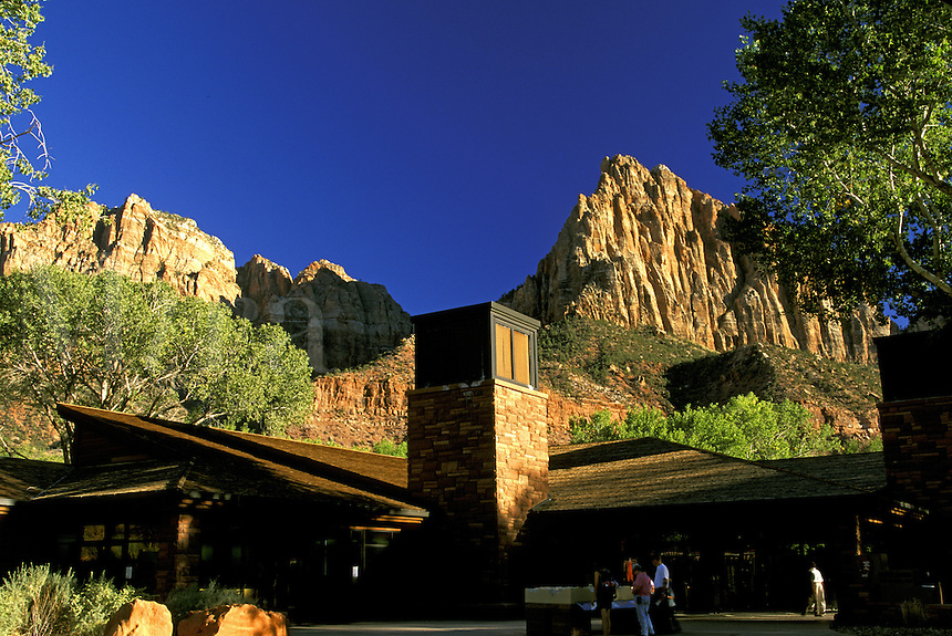 Zion National Park Visitor Center.  Utah.